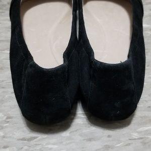 Dansko Shoes - Dansko 41 Black Bow Suede Leather Slip On Flats